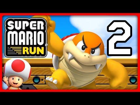 SUPER MARIO RUN Part 2: Toad über My Nintendo freigeschaltet & durch mit World 2