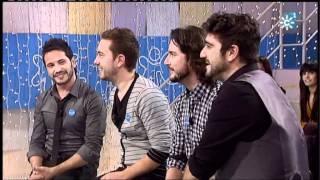 """Reto UNICEF """"Menuda noche"""" Entrevista David Demaria, Manuel Carrasco, Kiko Gaviño y Antonio Orozco"""