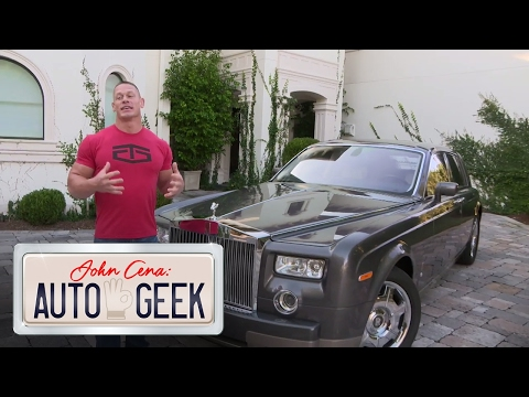 John Cena: Auto Geek, only on The Bella Twins YouTube channel!
