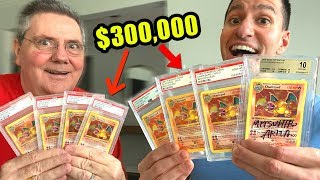 *GRADING OVER $300,000 OF POKEMON CARDS!* Opening and Results!