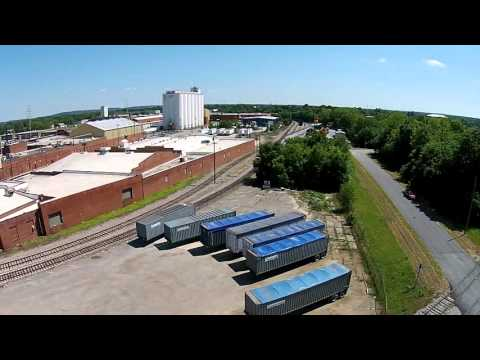 liberty-theater,-muscogee-county-jail-&-tom's-foods---aerial