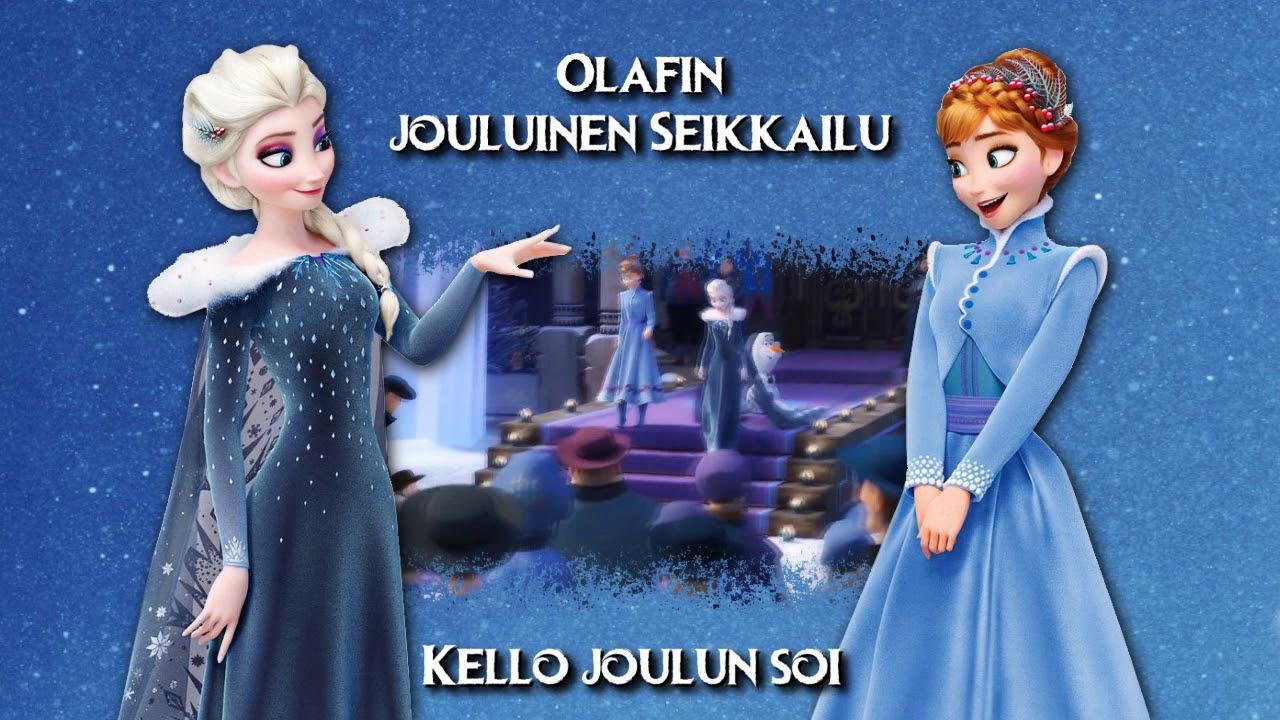 Olaf s Frozen Adventure - Ring in the Season (Finnish movie version).  Finnish Disney d4728b1307