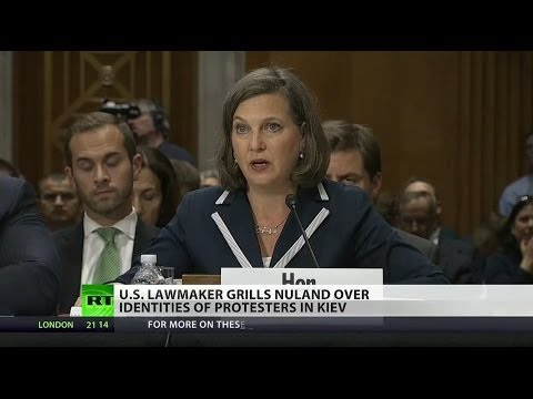 State Dept. grilled in Congress over support of Ukraine's neo-Nazis