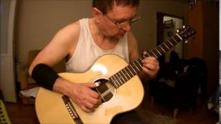 Autumn Leaves, Lassi Nurmi guitars proto model 'Creole Belle'