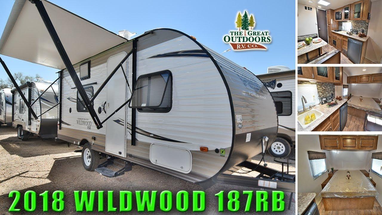 Merveilleux New 2018 Rear Bathroom WILDWOOD 187RB Travel Trailer RV Colorado Dealer
