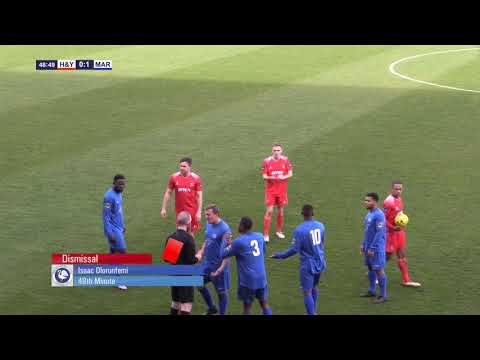 Hayes & Yeading v Marlow | HIGHLIGHTS | 9th March 2019