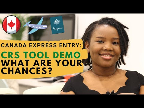 Canadian Express Entry CRS Tool   Let's Review The Pool   How To Know Your Chances