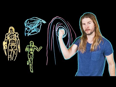 How Every Mass Effect Biotic Power Works! (Because Science w/ Kyle Hill)