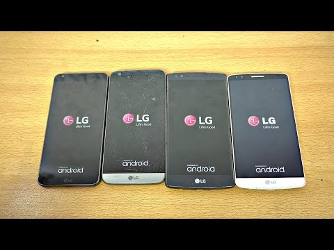 LG G6 vs LG G5 vs LG G4 vs LG G3 - Speed Test! (4K)