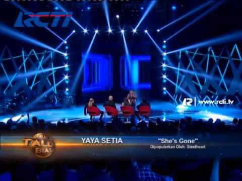 She's Gone By Yaya Setia - Bukan Talent Biasa 25 Maret 2014
