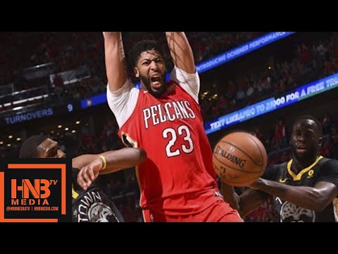 Golden State Warriors vs New Orleans Pelicans Full Game Highlights / Game 3 / 2018 NBA Playoffs