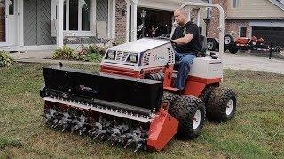 New Tractor!! Ventrac Compact Tractor & Aeravator!
