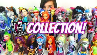 Monster High Collection Update 2014 - Over 4 Epic Years and 130 Dolls!