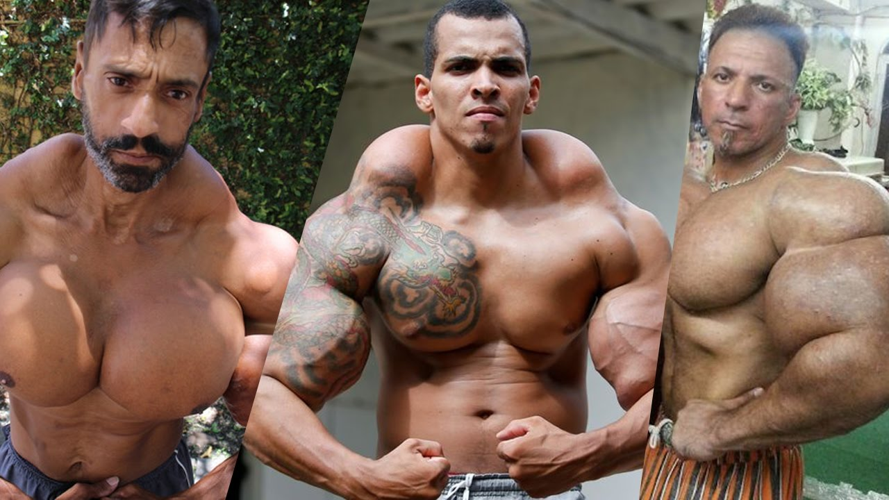 biggest synthol freaks youtube