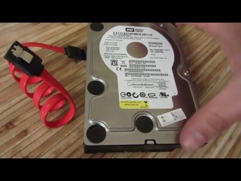 Как установить (снять) жесткий диск на компьютер
