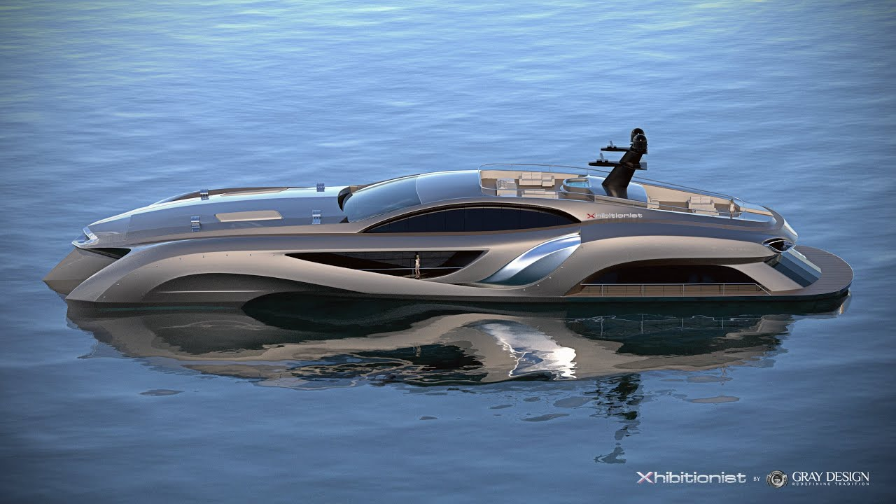 Xhibitionist by gray design youtube for Yacht dekoration