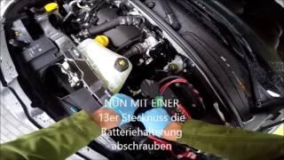 Renault Kangoo 2 Sicherungskasten Motorraum öffnen