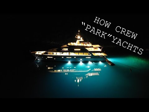 How To Dock A Super Yacht: Crew Duties