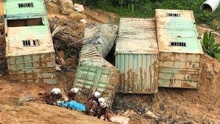 Three dead, 12 missing in Penang landslide