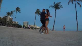 Kyle Quintal and Monika Krawczyk Bachata in Hawaii