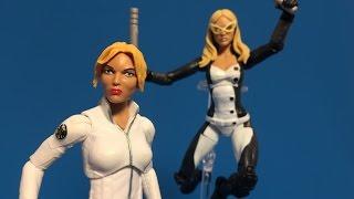 Hasbro Marvel Legends Captain America Red Onslaught BAF Wave: Mockingbird & Sharon Carter / Agent 13