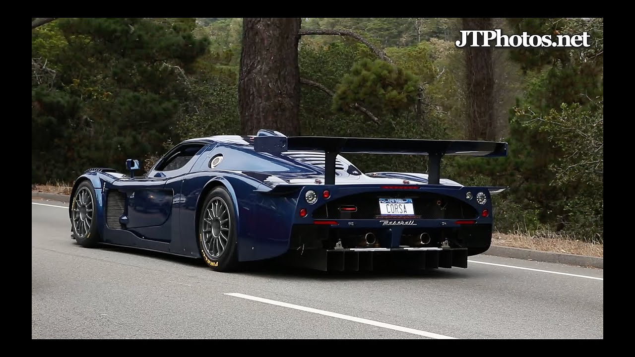 maserati mc12 corsa driving on public road youtube. Black Bedroom Furniture Sets. Home Design Ideas