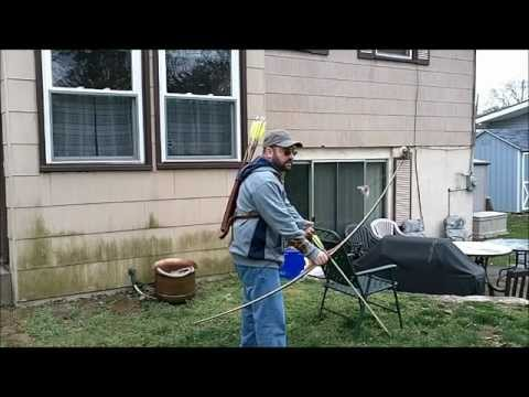 Shooting The Samick SLB-II Longbow
