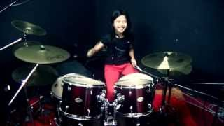 Devil Driver Clouds Over California - Drum Cover by Nur Amira Syahira