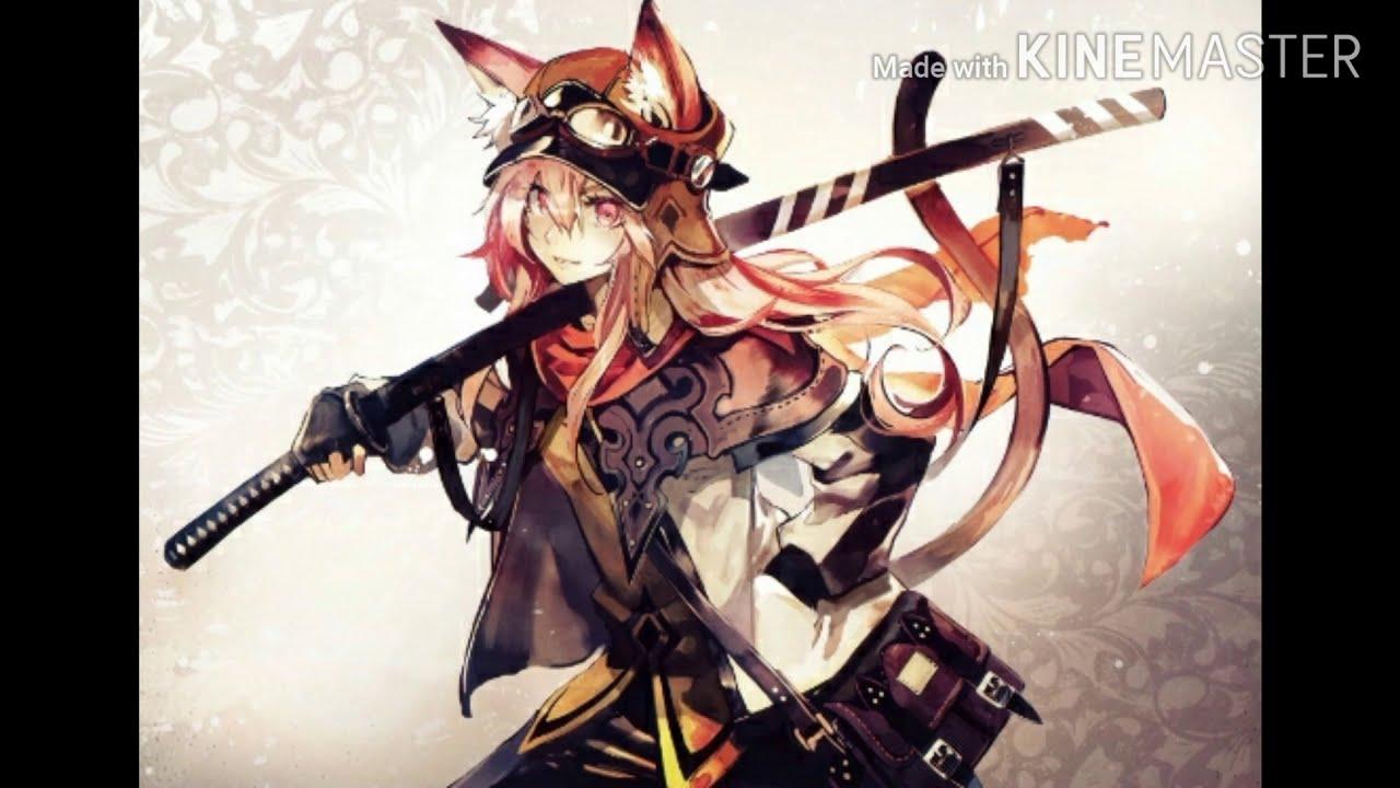 Ảnh anime nữ ngầu | lạnh lùng cầm kiếm phong cách . - YouTube