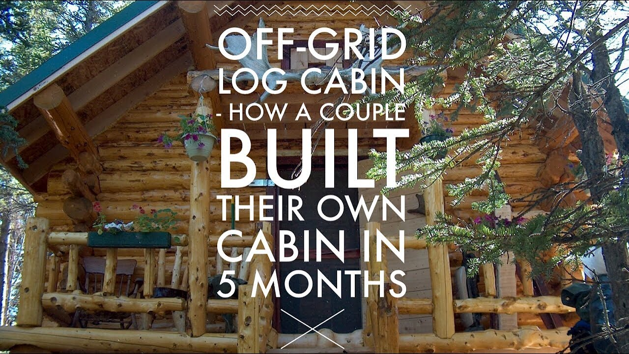 How to Build a Log Cabin (…from Scratch and by Hand) - Log