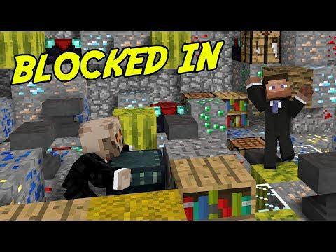 SLUTA GÖM DIG FIGGEHN! | Minecraft Blocked In Combat