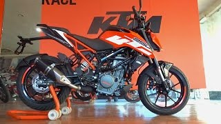 KTM Duke 250 First Look, Walkaround, Exhaust Note, All You Need to Know