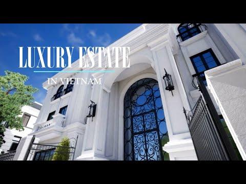 Luxury Estate Villa – VinHomes (VinGroup) Riverside in Hanoi Vietnam by Flora Di Menna Designs Inc.