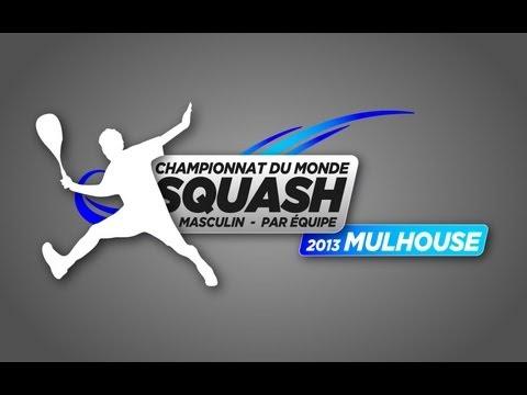 World Men's Team Squash Championship Day 1 (Centre Glass Court)