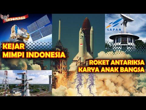 KALIAN PASTI BANGGA !! LAPAN INDONESIA Tengah MENCIPTAKAN ROKETANTARIKSA KARYA ANAK BANGSA