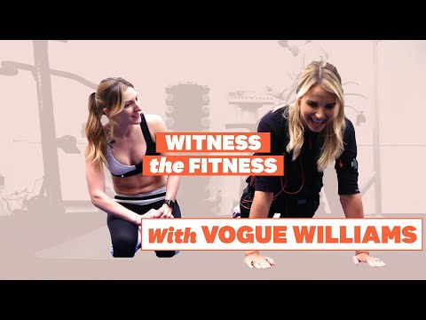 Vogue Williams Workout BTS with Women's Health | Witness The Fitness