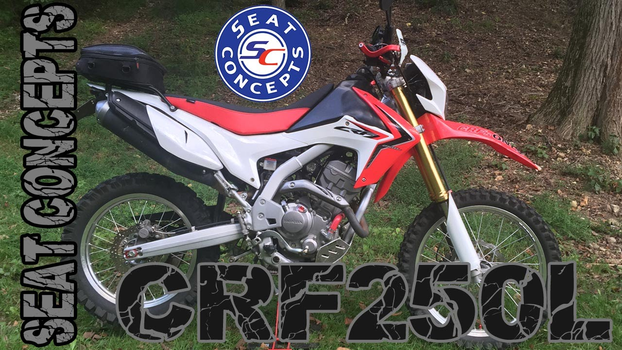 Seat Concepts Honda Crf250l Initial Thoughts    Review