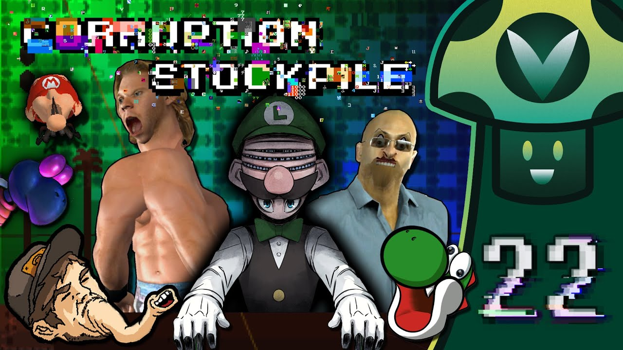 [Vinesauce] Vinny - Corruption Stockpile 22 + Wii Virtual Console Corruptions