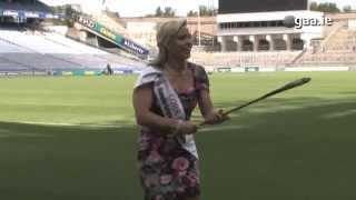 Cork Camogie star Anna Geary shows her Freestyle Hurling Skills