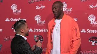 Terrell Owens on the Red Carpet at 2018 CP3 PBA Celebrity Invitational
