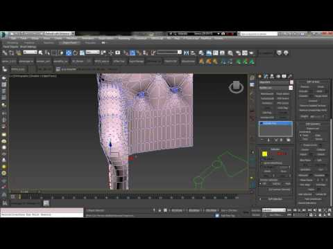 create armchair 3ds max party 6 end final