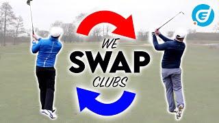 SECOND HAND CLUB CHALLENGE - PART 4 - We Swap Clubs!