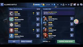 [AB] Alliance Battle Combat Marvel Future Fight - Saturday