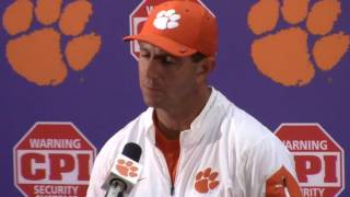 TigerNet.com - Dabo Swinney Louisville postgame press conference - Part 2