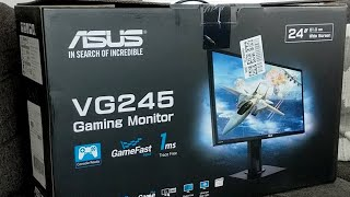 live Unboxing: ASUS VG245 Gaming Monitor
