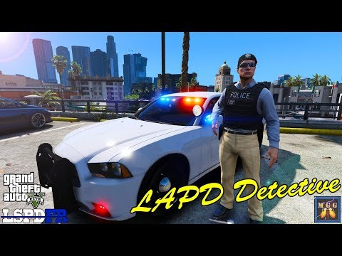 New Callouts Added! LAPD Detective Patrol GTA 5 LSPDFR Episode 213