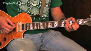 Slow Ride - How to Play Slow Ride by Foghat on Guitar