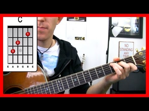 ‪Simple Man - Lynyrd Skynyrd - Acoustic guitar Song Tutorial - Easy beginner lesson Shinedown‬