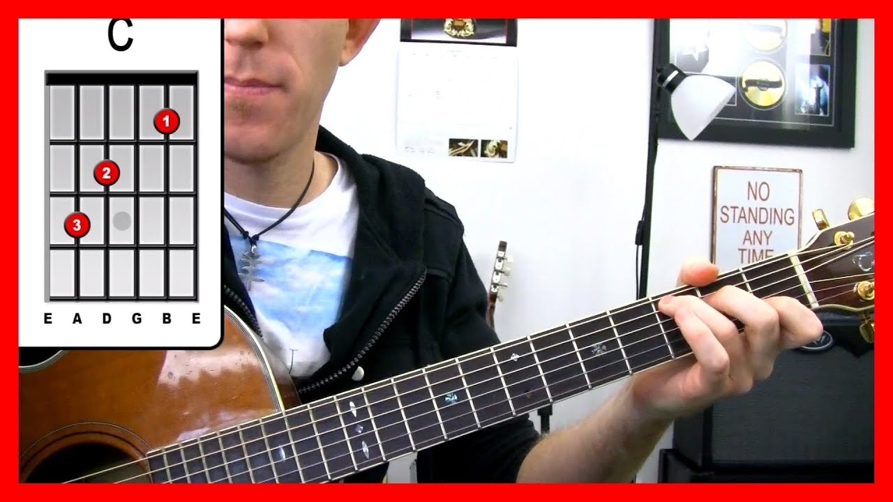 electric guitar beginner chords