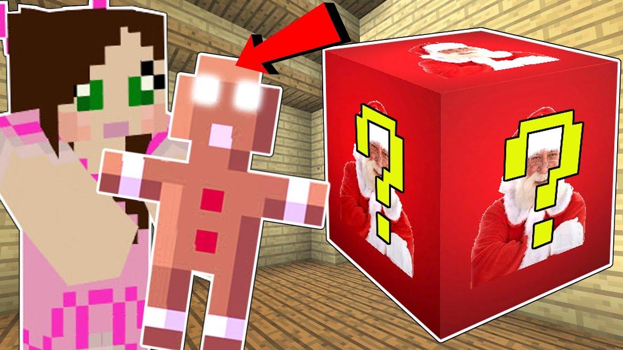 Minecraft: SANTA LUCKY BLOCK!!! (*INSANE* SANTA AND ELF WEAPONS!) Mod Showcase